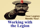 Working with the Legion Your Legion Needs You!